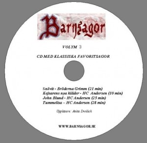 Volym 3 CD Label
