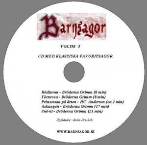 Volym 5 CD Label
